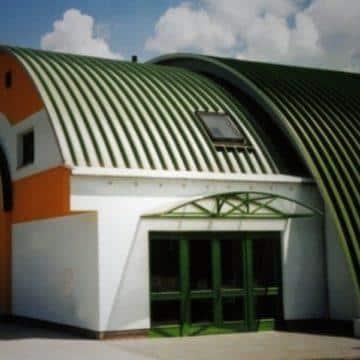 Административное здание или офис в бескаркасном ангаре