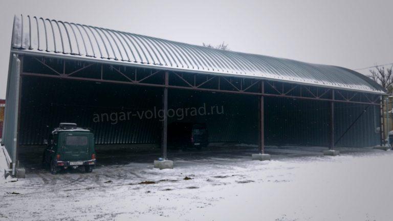 Открытый ангар в Волгограде ля стоянки автотранспорта