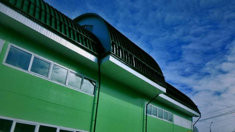 Бескаркасная крыша