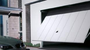 Щитовые ворота гаража