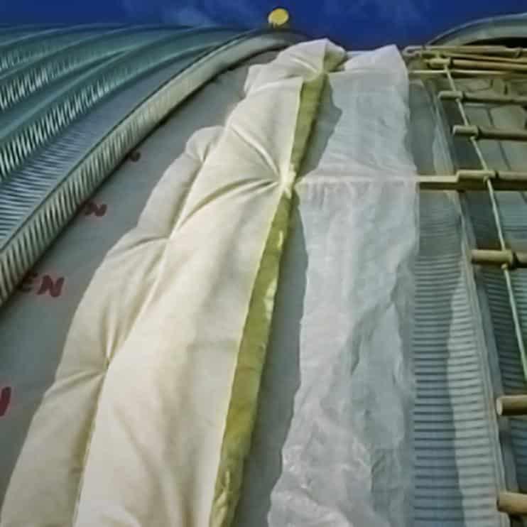 Теплоизоляция ангара минеральной ватой